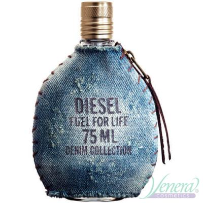 Diesel Fuel For Life Denim Collection EDT 75ml за Мъже БЕЗ ОПАКОВКА За Мъже