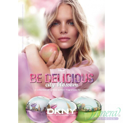 DKNY Be Delicious City Blossom Terrace Orchid EDT 50ml за Жени Дамски Парфюми