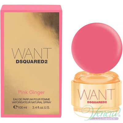Dsquared2 Want Pink Ginger EDP 100ml за Жени