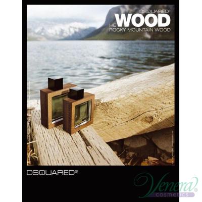 Dsquared2 He Wood Rocky Mountain EDT 30ml за Мъже Мъжки Парфюми