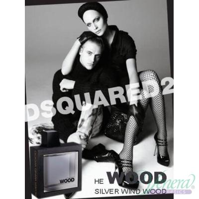 Dsquared2 He Wood Silver Wind EDT 50ml pentru Bărbați