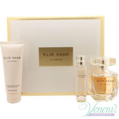 Elie Saab Le Parfum Комплект (EDP 90ml + EDP 10ml + Body Lotion 75ml) за Жени