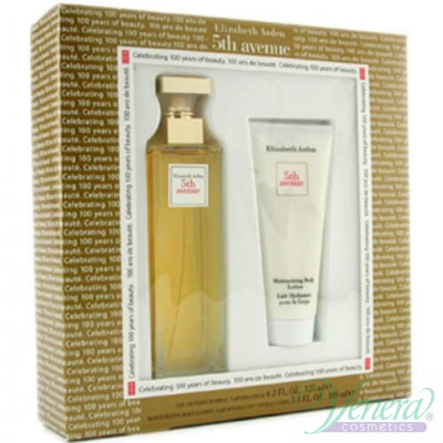 Elizabeth Arden 5th Avenue Set (EDP 75ml + Body Lotion 100ml) за Жени