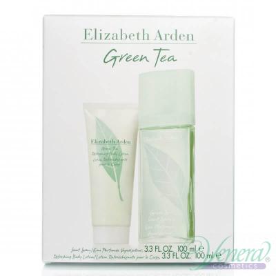 Elizabeth Arden Green Tea Set (EDP 100ml+ BL 100ml) за Жени Дамски Комплекти