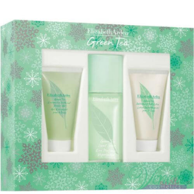 Elizabeth Arden Green Tea Комплект (EDP 100ml+ BL 100ml + SG 100ml) за Жени За Жени