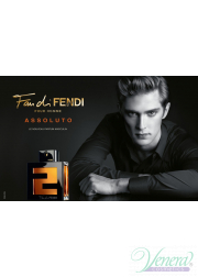 Fendi Fan di Fendi Pour Homme Assoluto EDT 50ml για άνδρες Αρσενικά Αρώματα