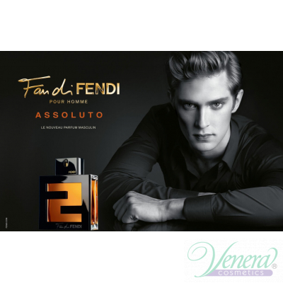 Fendi Fan di Fendi Pour Homme Assoluto EDT 100ml за Мъже Мъжки Парфюми
