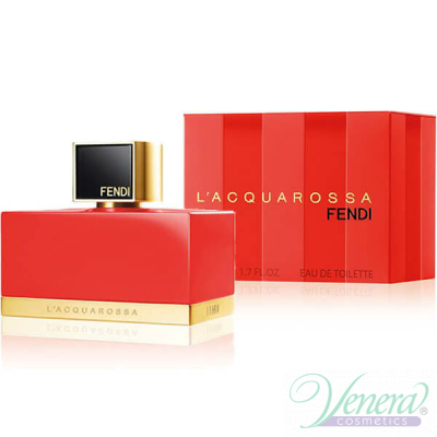 Fendi L' Acquarossa Eau de Toilette EDT 75ml за Жени Дамски Парфюми
