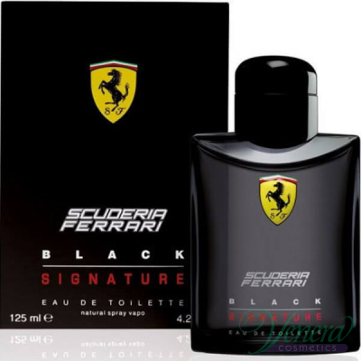 Ferrari Scuderia Ferrari Black Signature EDT 125ml за Мъже