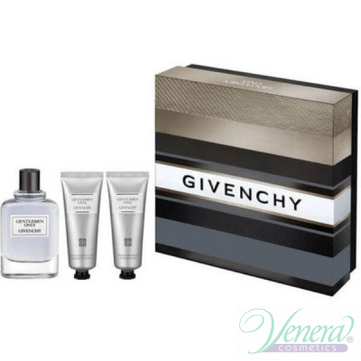 Givenchy Gentlemen Only Комплект (EDT 100ml + AS Balm 75ml + SG 75ml) за Мъже