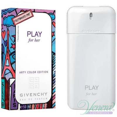 Givenchy Play For Her Arty Color Edition EDT 50ml за Жени Дамски Парфюми
