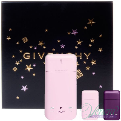 Givenchy Play For Her Комплект (EDP 50ml + mini EDP 5ml + Intense mini EDP 5ml) за Жени