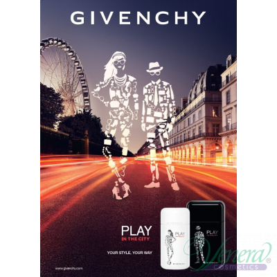 Givenchy Play in the City for Him EDT 100ml за Мъже Мъжки Парфюми