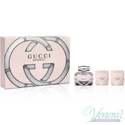 Gucci Bamboo Комплект (EDP 75ml + BL 100ml + SG 100ml) за Жени Дамски Комплекти