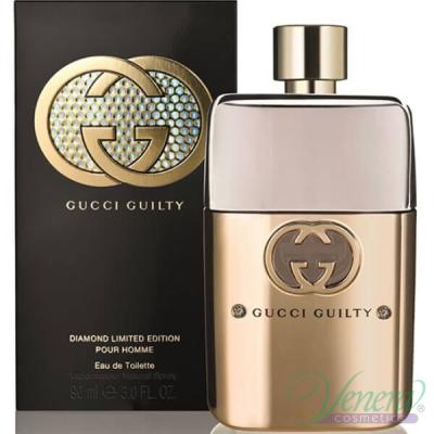 Gucci Guilty Diamond Pour Homme EDT 90ml за Мъже Мъжки Парфюми
