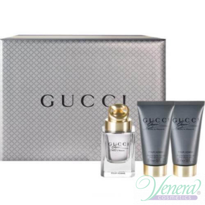 Gucci Made to Measure Комплект (EDT 50ml + After Shave Balm 50ml + SG 50ml) за Мъже За Мъже