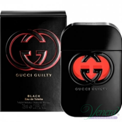 Gucci Guilty Black Pour Femme EDT 75ml за Жени Дамски Парфюми