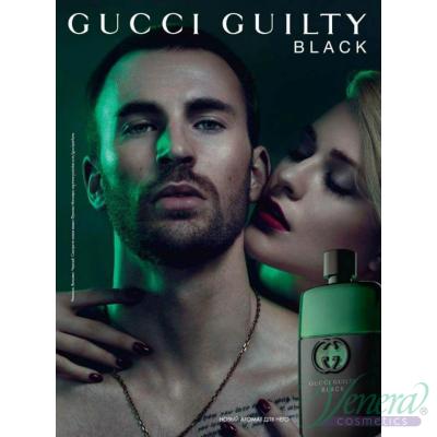 Gucci Guilty Black Pour Homme EDT 90ml за Мъже БЕЗ ОПАКОВКА За Мъже
