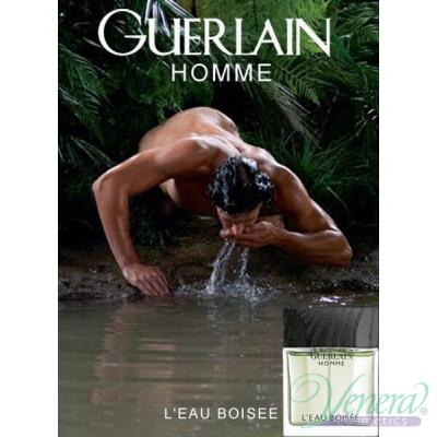 Guerlain Homme L'Eau Boisee EDT 100ml за Мъже Мъжки Парфюми