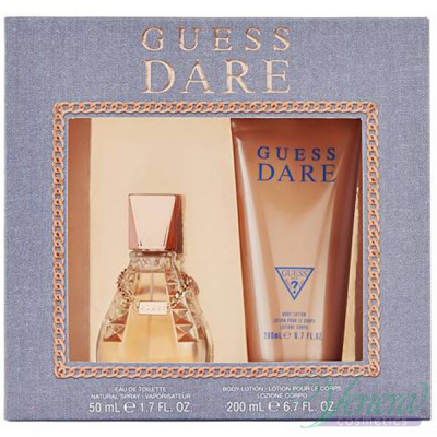Guess Dare Set (EDT 50ml + BL 200ml) για γυναίκες