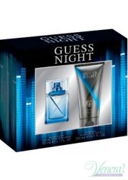Guess Night Set (EDT 50ml +Shower Gel 200ml) για άνδρες Sets