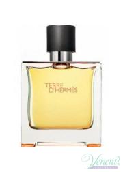 Hermes Terre D'Hermes Pure Parfum 75ml για άνδρες ασυσκεύαστo Ανδρικά Αρώματα Χωρίς Συσκευασία