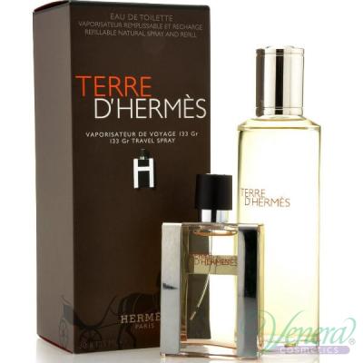 Hermes Terre D'Hermes Комплект (EDT 30ml + EDT 125ml Refill) за Мъже За Мъже
