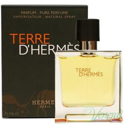 Hermes Terre D'Hermes Pure Parfum 75ml for Men Men's Fragrance