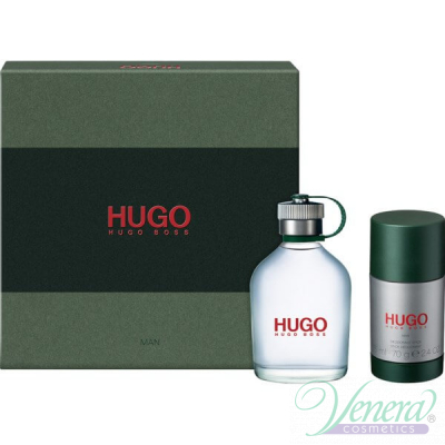 Hugo Boss Hugo Комплект (EDT 75ml + Deo Stick 75ml) за Мъже