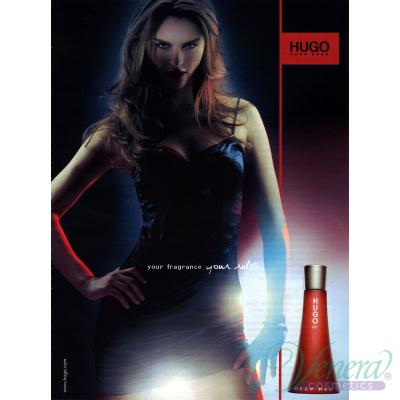 Hugo Boss Hugo Deep Red EDP 30ml за Жени Дамски Парфюми