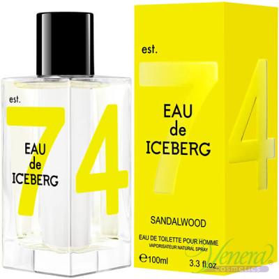 Iceberg Eau de Iceberg Sandalwood EDT 100ml за Мъже Мъжки Парфюми