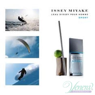 Issey Miyake L'Eau D'Issey Pour Homme Sport EDT 100ml за Мъже БЕЗ ОПАКОВКА За Мъже