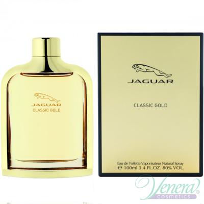 Jaguar Classic Gold EDT 100ml за Мъже Мъжки Парфюми