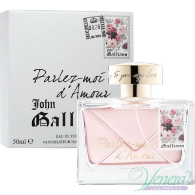 John Galliano Parlez-Moi D'Amour EDT 50ml за Жени Дамски Парфюми
