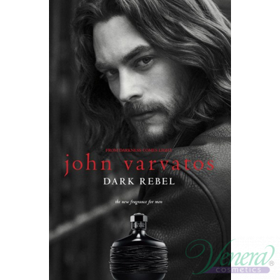 John Varvatos Dark Rebel EDT 125ml за Мъже Мъжки Парфюми