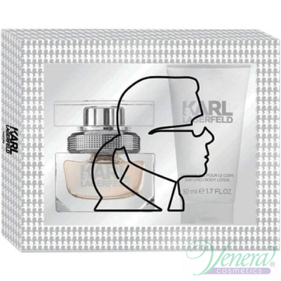 Karl Lagerfeld for Her Комплект (EDP 25ml + BL 50ml) за Жени