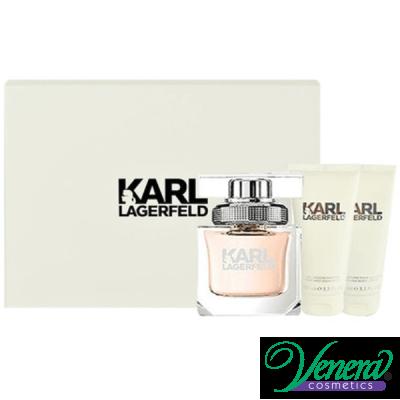 Karl Lagerfeld for Her Комплект (EDP 85ml + BL 100ml + SG 100ml) за Жени Дамски Комплекти
