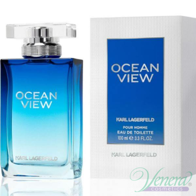 Karl Lagerfeld Ocean View EDT 100ml за Мъже Мъжки Парфюми