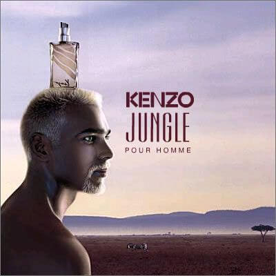 Kenzo Jungle Homme EDT 100ml for Men Without Package Products without package