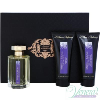 L'Artisan Parfumeur Mure et Musc Extreme Комплект (EDP 100ml + BL 100ml + SG 100ml) за Мъже и Жени