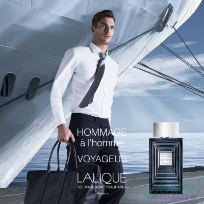 Lalique Hommage à L'Homme Voyageur EDT 50ml for Men Men's Fragrance