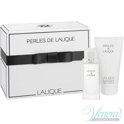 Lalique Perles De Lalique Комплект (EDP 100ml + Shower Gel 150ml) за Жени Дамски Комплекти