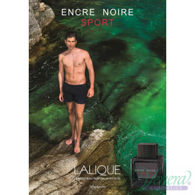 Lalique Encre Noire Sport EDT 100ml for Men Men's Fragrance