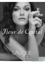 Lalique Fleur De Cristal Комплект (EDP 100ml + Scarf) за Жени Дамски Комплекти
