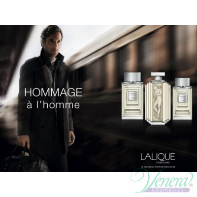 Lalique Hommage à L'Homme EDT 100ml for Men Men's Fragrance