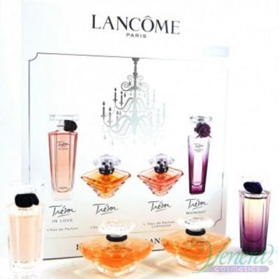 Lancome Les Tresors de Lancome Комплект 4 Миниатюри (EDP 5ml + EDP 7.5ml + EDP 7.5ml + EDP 5ml) за Жени Дамски Комплекти