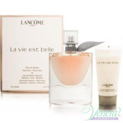 Lancome La Vie Est Belle Set (EDP 50ml + Body Lotion 50ml) for Women Sets