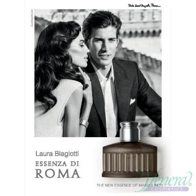 Laura Biagiotti Essenza Di Roma Uomo EDT 125ml за Мъже БЕЗ ОПАКОВКА