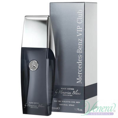 Mercedes-Benz Vip Club Black Leather by Honorine Blanc EDT 50ml за Мъже Мъжки Парфюми