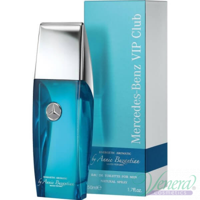 Mercedes-Benz Vip Club Energetic Aromatic by Annie Buzantian EDT 50ml за Мъже Мъжки Парфюми